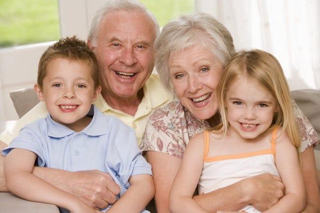 алименты с дедушки и бабушки