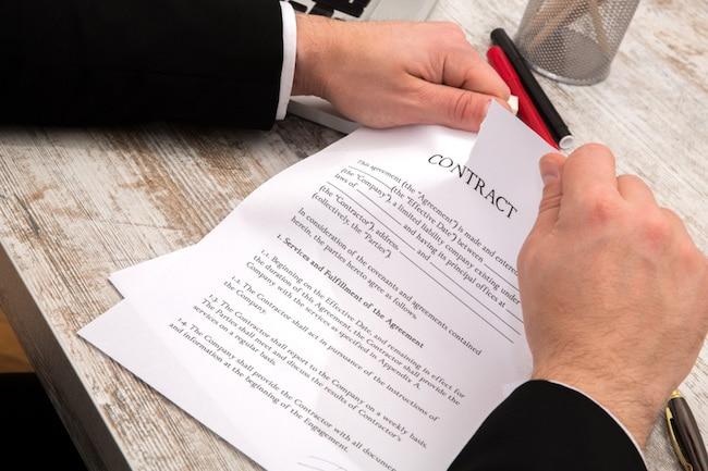 недействительное соглашение